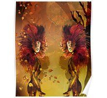 Autumn Colour Spirits Poster