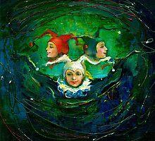 Holiday. by Elena Makarova-Levina
