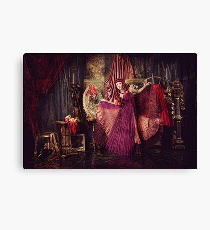 WORLD'S A STAGE I Canvas Print