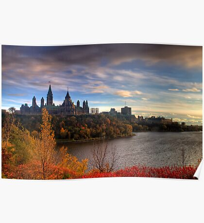 Fall colours - Ottawa, Ontario Poster