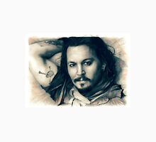 Johnny Depp drawing Unisex T-Shirt