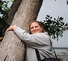 I am A Tree Hugger by Jonice