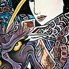 Geisha and Demon by Becca by debzandbex