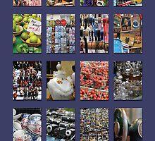 Portobello Market (Purple) by Heidi Hermes