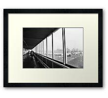 Covered Footbridge 1977 Framed Print
