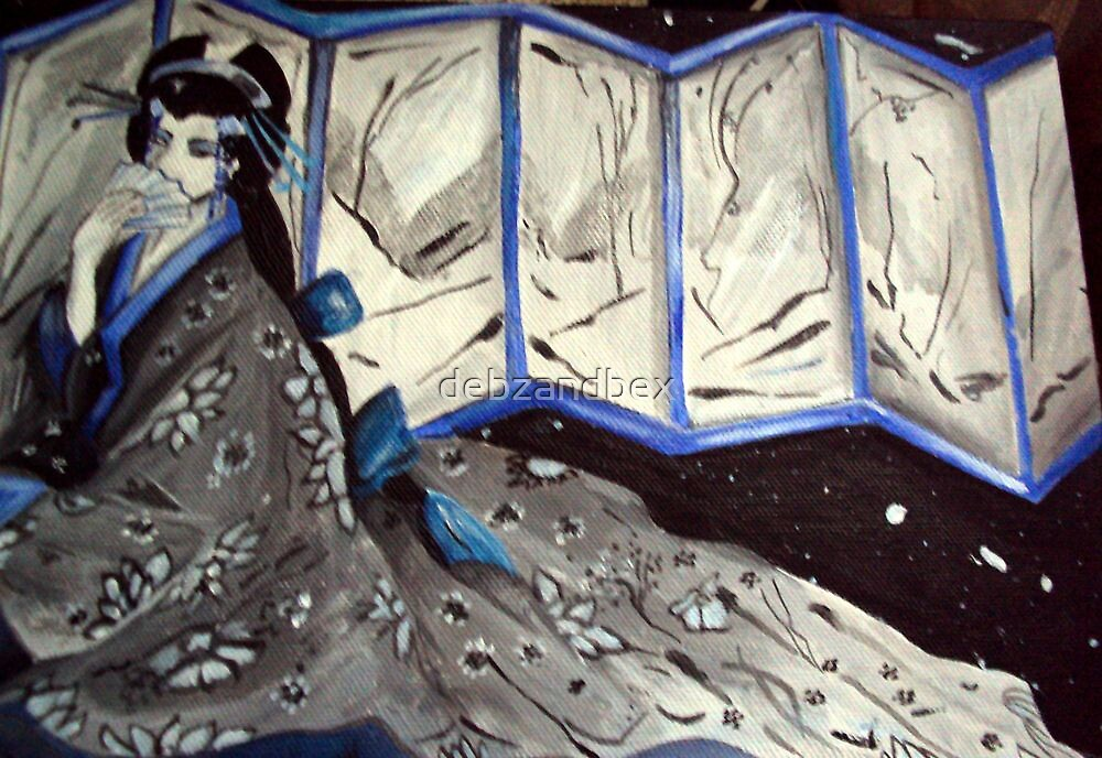Blue Geisha by debzandbex