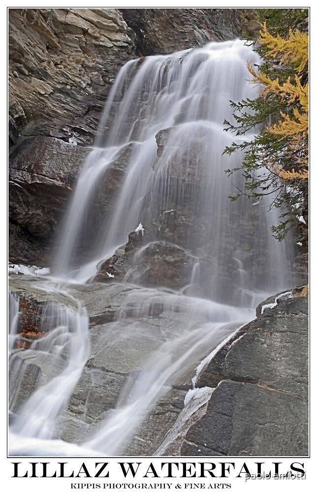 lillaz waterfall by paolo amiotti