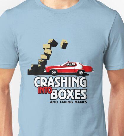 Crashing Into Boxes and Taking Names T-Shirt