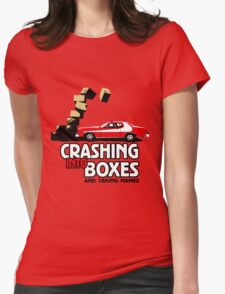 Crashing Into Boxes and Taking Names T-Shirt