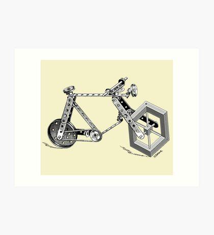 Impossible Bike Art Print