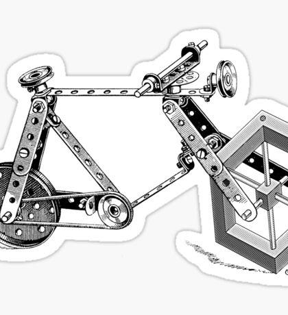 Impossible Bike Sticker