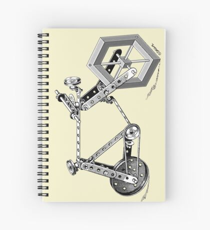 Impossible Bike Spiral Notebook