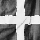 Cornwall - Flag of St Piran - Kernow by TexTs
