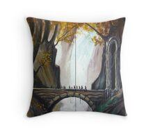 Bridge in Mirkwood  Throw Pillow