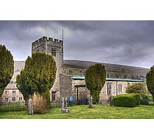 The Church of St Andrew,Dent Photographic Print