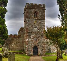 The Tower Of St Andrew's Church, Dacre by VoluntaryRanger