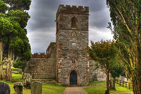 The Tower Of St Andrew's Church, Dacre by Jamie  Green