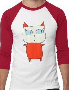 Beatrice the Cat Men's Baseball ¾ T-Shirt