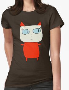 Beatrice the Cat Womens Fitted T-Shirt