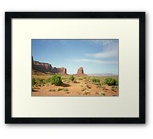 Cowboys and Indians  Framed Print