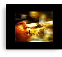 In The Blink Of An Eye Canvas Print