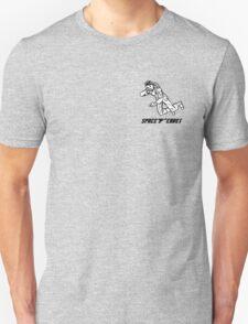 Retro Black Logo T-Shirt