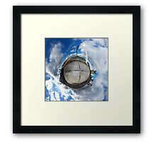 Gateshead Quayside Stereographic Projection  Framed Print