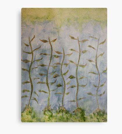 The Dancing Cabbage Weeds Metal Print