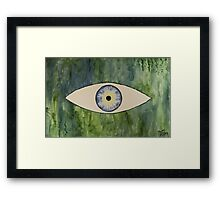 Sea Monster Eye Framed Print