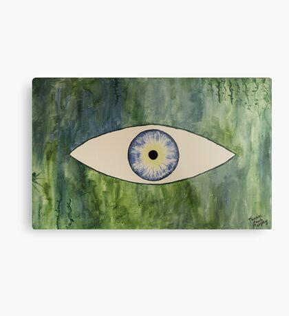 Sea Monster Eye Metal Print