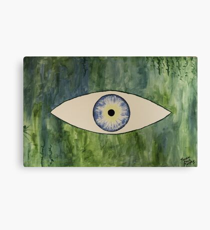 Sea Monster Eye Canvas Print