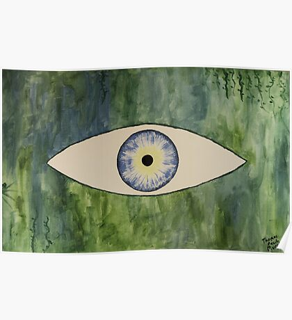 Sea Monster Eye Poster