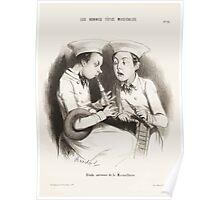 Houghton 44W 2685 Les bonnes têtes musicales 11 Poster