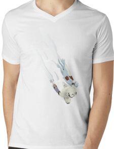 The Missing Wampa Scene Mens V-Neck T-Shirt