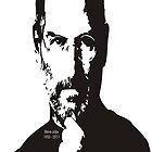 Steve Jobs 1955 - 2011 Memorial Case  by BUB THE ZOMBIE