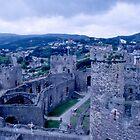 Welsh Castle Ruins by BearheartFoto
