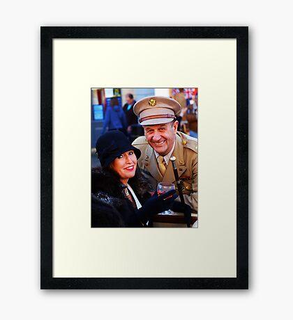 The Pickering War Weekend 2011 22 Framed Print