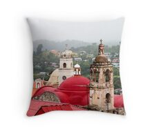 Real del Monte Steeples Throw Pillow