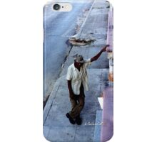 Cuban pause iPhone Case/Skin