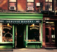 Vesuvio Bakery - Soho - New York City by Vivienne Gucwa