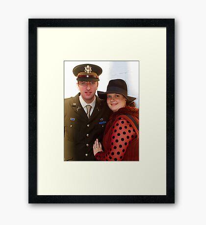 The Pickering War Weekend 2011 25 Framed Print