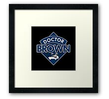 Doctor Brown Framed Print