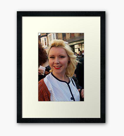 The Pickering War Weekend 2011 27 Framed Print