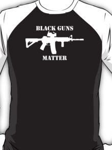 Black Guns Matter T-Shirt