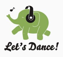 Dancing Elephant by pencilplus