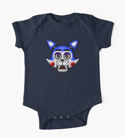 Five Nights at Candy's - Pixel art - Candy the Cat One Piece - Short Sleeve