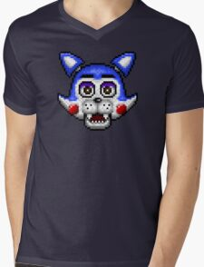 Five Nights at Candy's - Pixel art - Candy the Cat Mens V-Neck T-Shirt