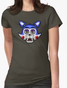 Five Nights at Candy's - Pixel art - Candy the Cat Womens Fitted T-Shirt
