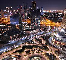Downtown Dubai by Sebastian Opitz