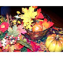 The Beauty of Fall Photographic Print